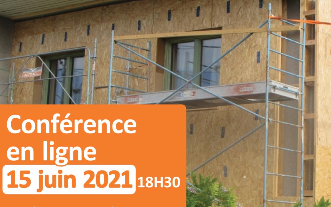 Conférence en ligne : les étapes clés d'une rénovation performante ! 15 juin – 18h30